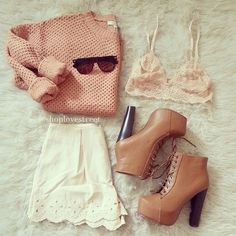 ↠{@AlinaTomasevic}↞ :Pinterest <3 | ☽☼☾ love life ☽☼☾ | Cute Outfit