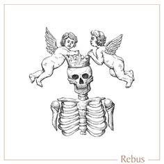 Hand drawn skeleton and cherub artwork, with crown and wings detailing, custom designed for a signet ring engraving. Skeleton Hand Tattoo, Skeleton Hands, Hand Tattoos, Tarot Card Tattoo, Ring Sketch, Hand Flowers, Ring Engraving, Engraved Rings, Memento Mori