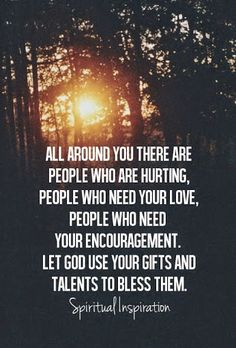 Be an encourager to others