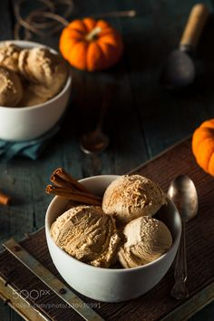 Pic: Homemade Pumpkin Pie Ice Cream