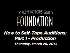 Self-taped auditions are becoming more and more common. Though the technology is easy to come by, one still needs to know the technical skills. In part one of this series, we will show you how to properly set up the equipment as well as cover other technical details one needs to know to properly self-tape an audition. Look for part two in the se...