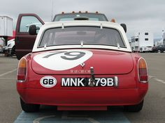Anyone have pictures of a MGB with Sebring valances on it? : MGB & GT Forum : The MG Experience Archive