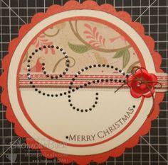 CTMH Christmas Tag