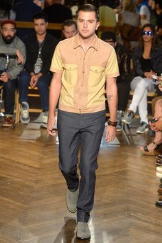 N.Hoolywood Spring 2014 Menswear Collection Slideshow on Style.com