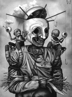 Scarecrowby, Jeff Christensen. ☚