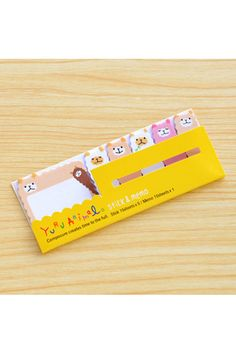 Cute paper sticky notes and memo of sheep. This sticky note set will be great for decorative use and craft projects. A must have for Scrapbooking,