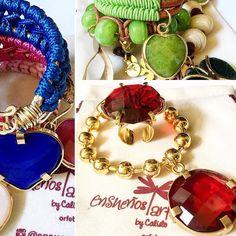 Elegancia  color un Mix que enamora  #Accesorios By @ensuenos . Disponible vía Vical19@hotmail.com 58-4143364904 . Encuentra más de esta propuesta en: IG: @ensuenos Facebook: Ensueños Art By Calisto Pinterest: Ensueños Art By Calisto . #Accesories #Jewelry #Designers #DirectorioMModa #MModaVenezuela #Venezuela #DiseñoVenezolano #Shop #Fashion #latinoamerica #Worldwide