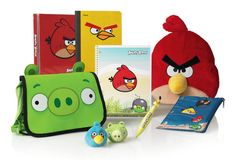 Amazing Angry Birds school supplies for your kids!