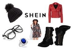 """Na SheIN"" by racheldenisnefeke on Polyvore featuring Miss Selfridge, IRO, Bling Jewelry, contestentry and shein"