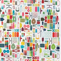 I have always loved this Puzzle Rug by ABC Home. Makes me happy.