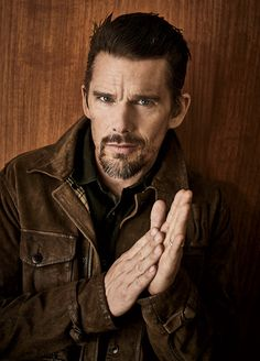 Ethan Hawke, photographed by Rainer Hosch for Austin Way magazine, fall 2014. Like fine wine, better with age.