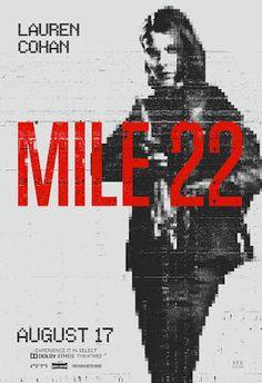 絕地22哩/拳力逃脫(Mile 22)poster