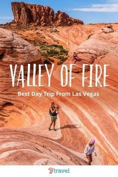 Planning to visit Las Vegas but looking to escape the craziness of the Strip? Then visit Valley of Fire State Park, it's one of the best day trips fro Las Vegas Hotels, Las Vegas Vacation, Visit Las Vegas, Las Vegas Travel, Sedona Arizona, Las Vegas Hiking, Nevada, State Parks, Valley Of Fire State Park