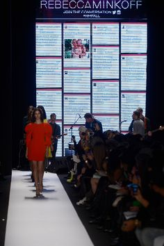 Rebecca Minkoff used a Tweetwall, but didn't monitor... a lesson to be learned.