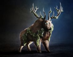 The Lord of the Forest Personal project, a character from one of my dreams. Lot's of work and I was learning how to paint over render. To see the whole process of creating this creature please visit:https://www.artstation.com/artwork/3wdeB