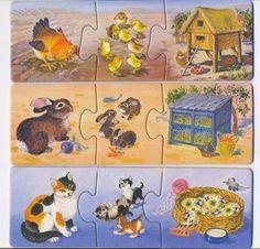 Játszva megismerjük a háziállatokat - szélike - Picasa Web Albums Animals For Kids, Farm Animals, Puzzles, Sequencing Cards, File Folder Activities, Animal Crafts, Land Art, Dollhouse Miniatures, Projects To Try