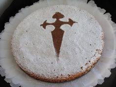 Receta: Tarta de Santiago / Tarta de almendras -- Receta Original - YouTube