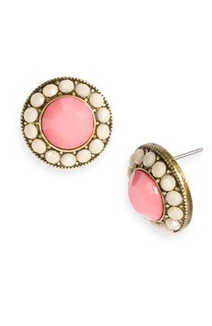 stephan & co encircled facet stud earrings