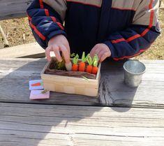 Small #VegetableGarden #GardenPlaySet #Toy #MiniGarden #forKids #FeltGarden by #Florfanka