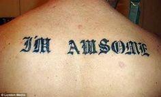 Incredible Misspelled Tattoos
