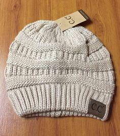 d2cc8b90299 CC Beanie Tail Messy High Bun Ponytail Hat Knit Beanie Cap Hole Slouchy  Baggy  fashion  clothing  shoes  accessories  womensaccessories  hats (ebay  link)