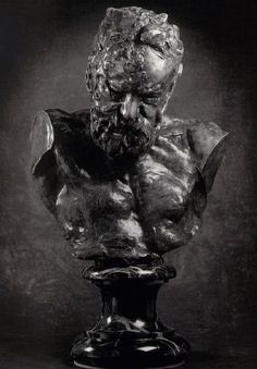 Bust of Victor Hugo by Auguste Rodin Bronze, 1897