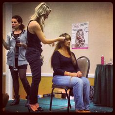 Babe extension class taken this fall! Can't wait to bring these into the salon