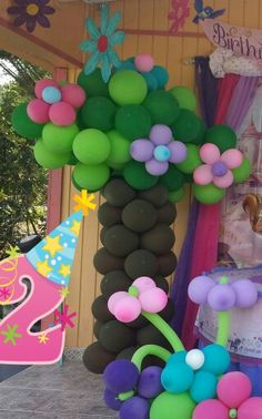 Balloon tree by me €£@