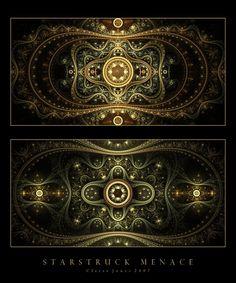 Starstruck Menace  by `ClaireJones  Digital Art / Fractal Art
