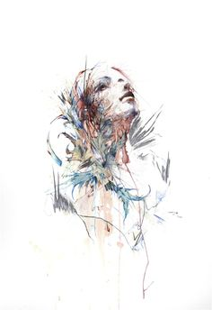 Peace by Carne Griffiths from the VIolence of Flowers