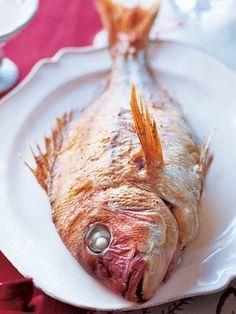 【ELLE a table】鯛のファルシレシピ|エル・オンライン