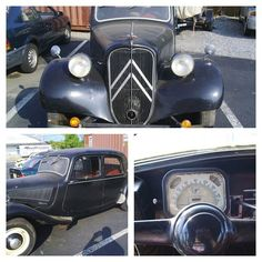 Rare Citroen Traction Avant from 1952 at the shop. Time to restore to new. #citroen #tractionavant #vintagecars by Citroen Cars, via Flickr