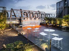 KRION® PROJECTS: VERTICAL RESTAURANT TERRACE (VALENCIA)