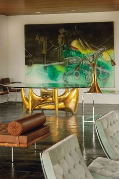 Mid-Century Modern Freak | Sculptured Tables |Philippe Hiquily Born in 1925...