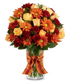 Orange Purple Blooms at From You Flowers Flowers For You, Fall Flowers, Fresh Flowers, Orange Rose Bouquet, Orange Flowers, Thanksgiving Flowers, Mini Carnations, Fall Flower Arrangements, Fall Bouquets