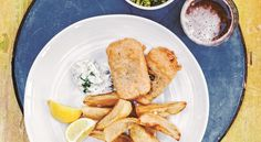 Beer-Battered Tofu 'Fish' and Chips…