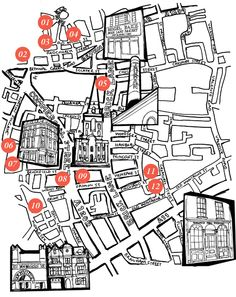 LONDON DESIGN MAP
