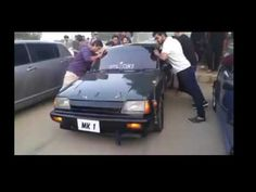 Mehran, Cultus & Khyber Burn Out Stunt At Isb Low Rides Auto Show Islamabad