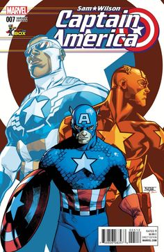 ALL-NEW ALL-DIFFERENT AVENGERS artist Mahmud Asrar brings together the three Captain Americas.
