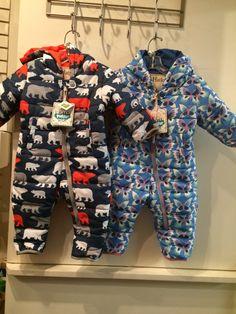 Hatley baby snow suit.