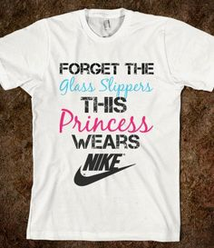 Nike Princess - funny, vintage, creative, pretty, and quote tops from @Melanie Bauer Bauer Galea