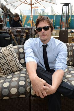 Norman Reedus.....I bet he is great in bed, I imagine he likes it a little rough.