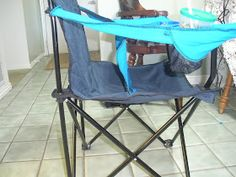 Life with the Anderson: DIY Camping high chair
