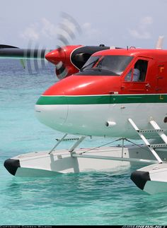 """Ok - when two of my guy friends say """"Hey Ross you should buy a plane""""  what the crap do I do...If I do it must be a seaplane (period).   De Havilland Canada DHC-6-300 Twin Otter aircraft #seaplane"""