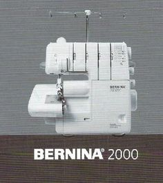 My serger - Bernina A few years old, but sews like brand new! Bernina Serger, My Sewing Room, Till Death, Sewing Machines, Couture, Haute Couture, Sewing Sleeves, Sewing Hacks