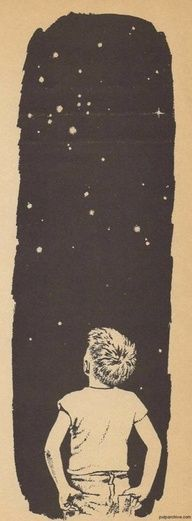 Oh, to look at the stars.