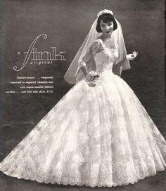 1950s Vintage Bride, via Flickr.
