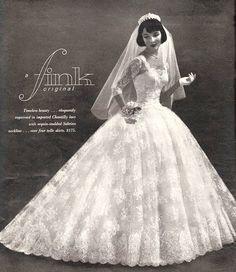 1950s Vintage Bride, via Flickr.