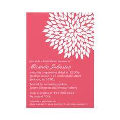 #bridal shower invitations #wedding