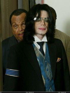 Michael Jackson and his father